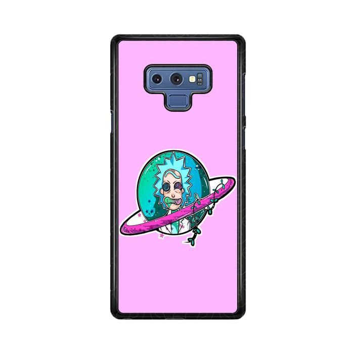 online store ac466 461b9 Rick And Morty Pink Backgound Samsung Galaxy Note 9 Case di 2019 ...