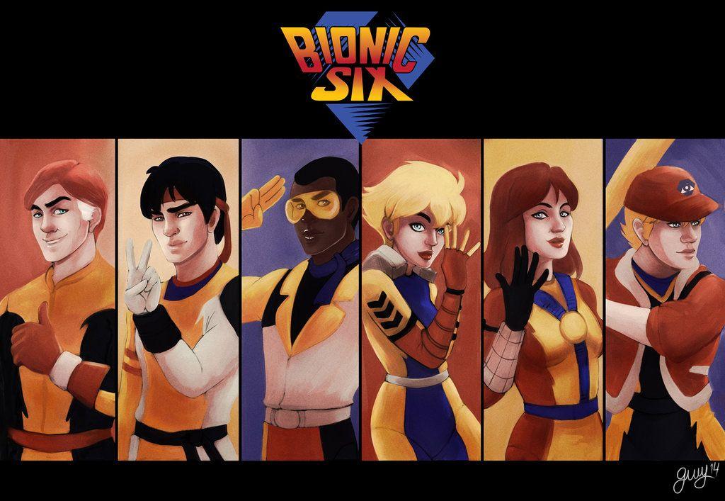 Bionic Six by Gwydionland.deviantart.com on @deviantART