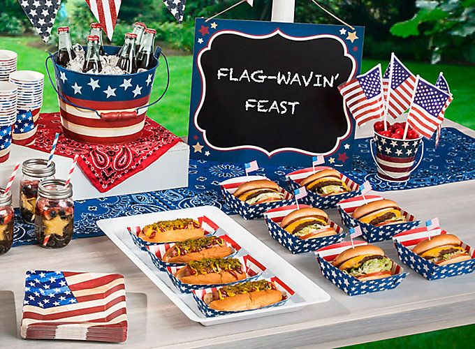 Amazing American Themed Dinner Party Ideas Part - 6: 9 Perfect Of July Food And Drink Ideas: These Fun, No-fuss All-American  Eats Will Be The Stars Of Your Party!
