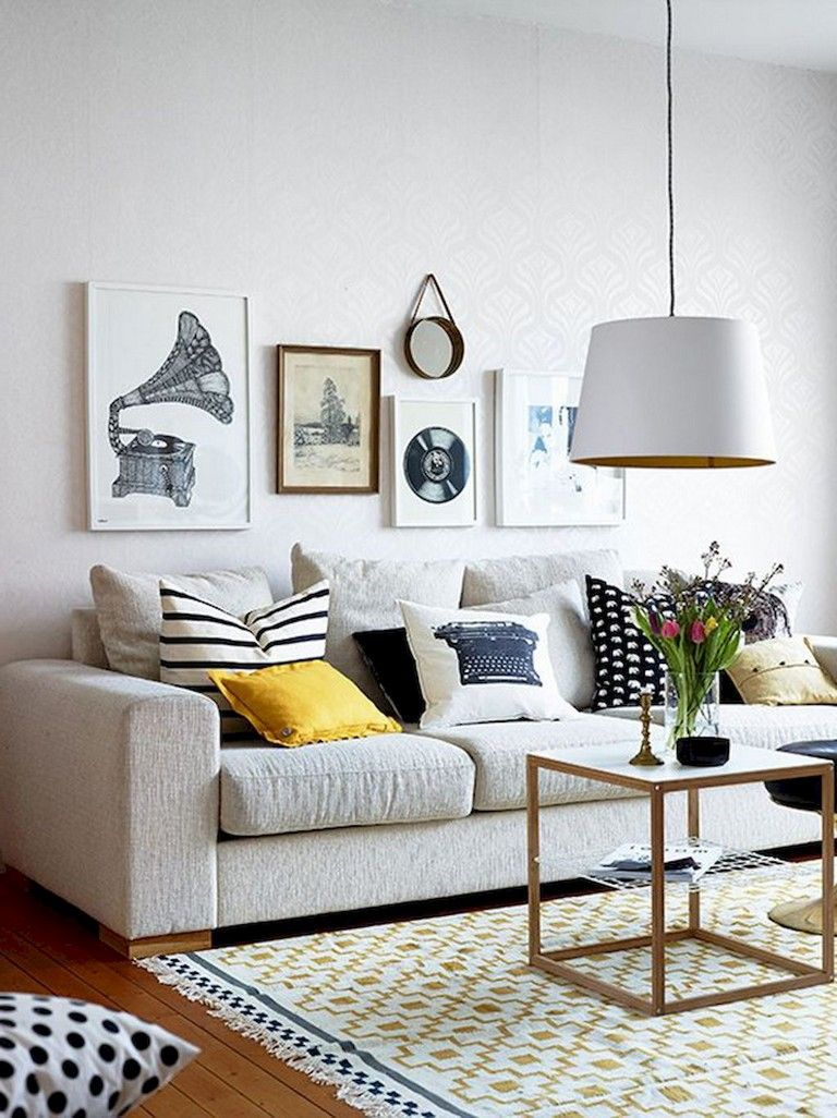 Best 54 Comfy Modern Eclectic Living Room Decorating Ideas 400 x 300