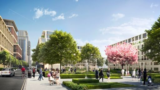 Sir Terry Farrell's Earls Court Masterplan for Capital & Counties: Gibbs Green Park