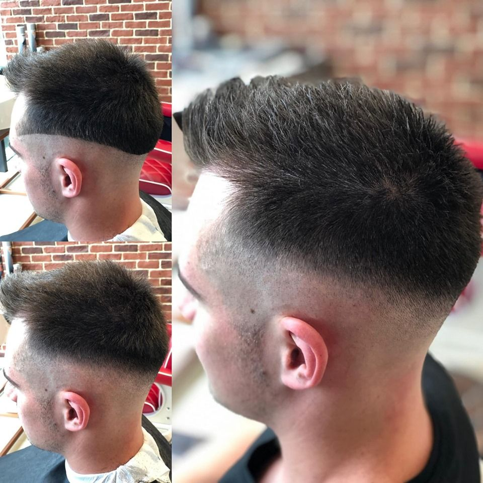 How To Get The Look Step By Step Haircut By Gabur Stefan Gett S Men Barber Shop Iulius Mall Cluj Men Barber Shop Haircuts Mens Barbershop Haircuts For Men