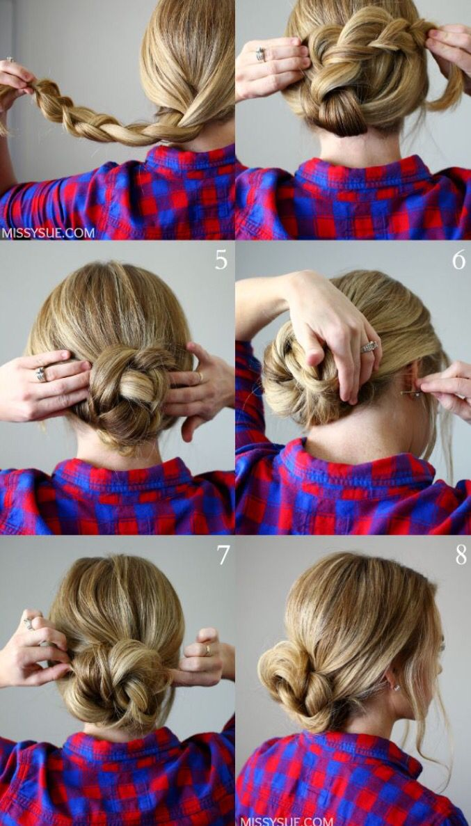 Pin By Wiola Pilat On Hairstyles Pinterest Casual Hairstyles
