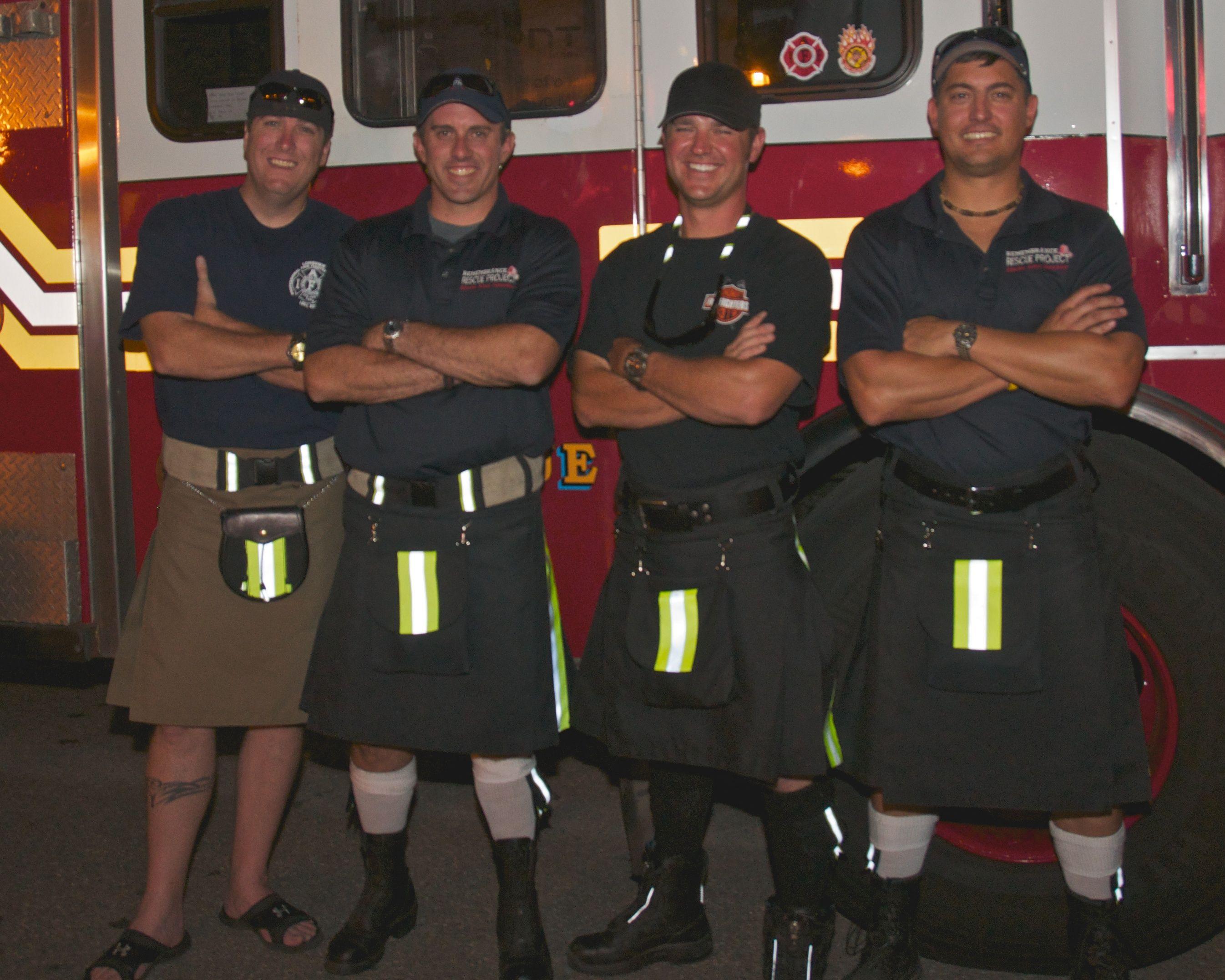 Scottish fireman