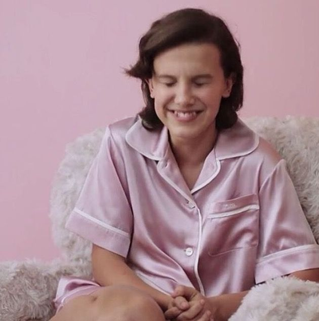 Happy Birthday Millie I Love You To The Moon And Back Millie Bobby Brown Bobby Brown Bobby Brown Stranger Things