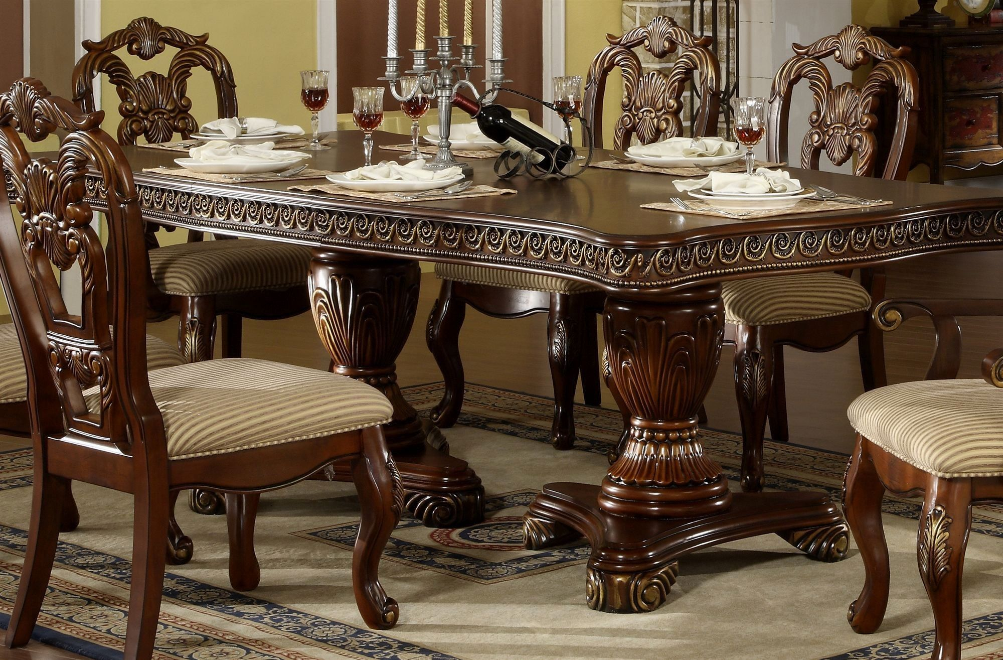 Solid Wood Formal Dining Room Sets For Better Look Formal Dining