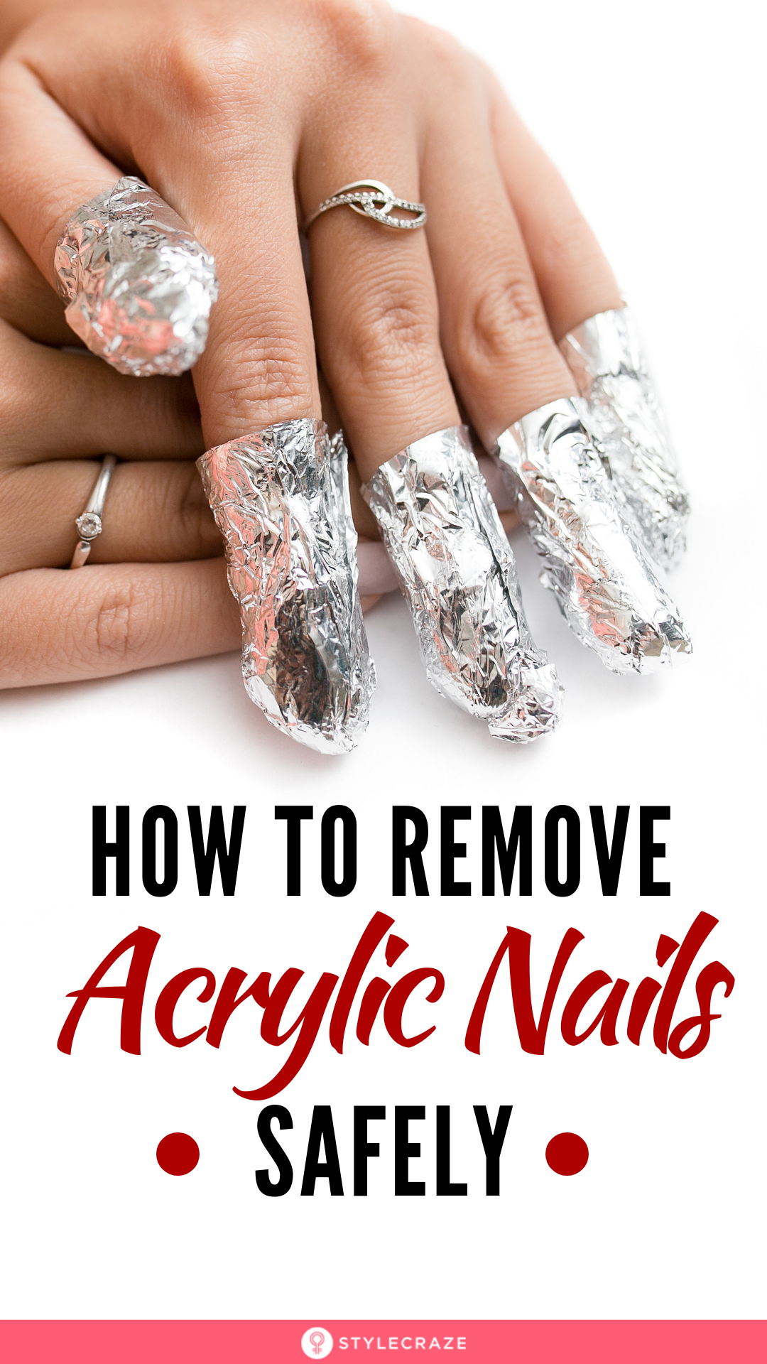 How To Remove Acrylic Nails The Right Way At Home Remove Acrylic Nails Acrylic Nails At Home Take Off Acrylic Nails