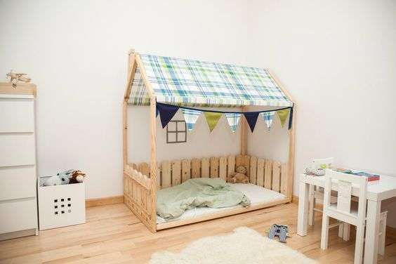 aménagement Montessori : sommeil