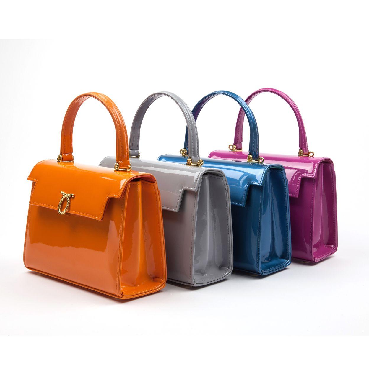6aa7204e5c Launer London Judi Patent Handbag Collection £1