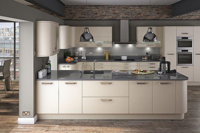 Innova carrera painted alabaster modern kitchen cocina - Carrera de cocina ...