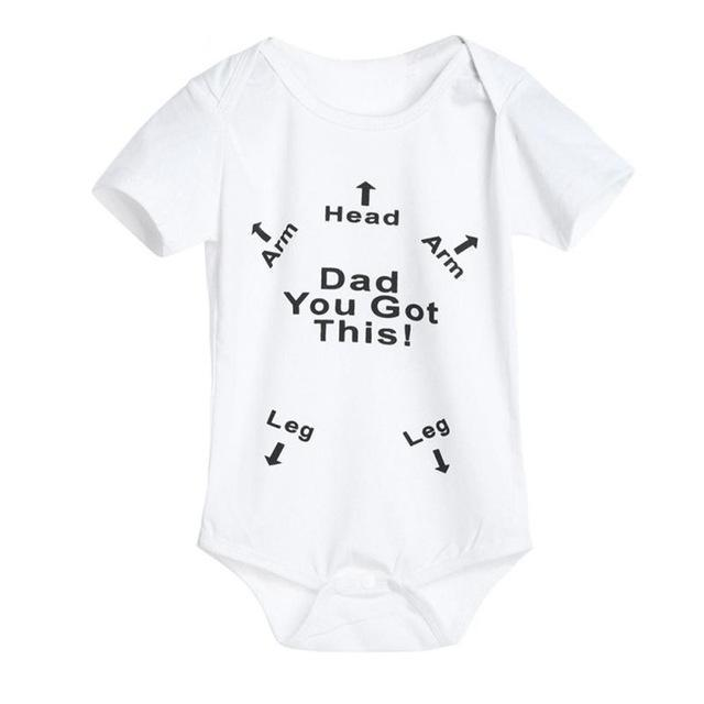 209b488748c4 Dad You got this!    Funny Baby Jumpsuit for babies in 2019 ...