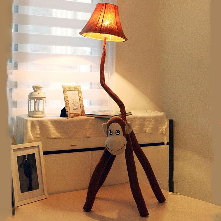 Best Fabric Monkey Style Floor Lamps For Baby Nursery