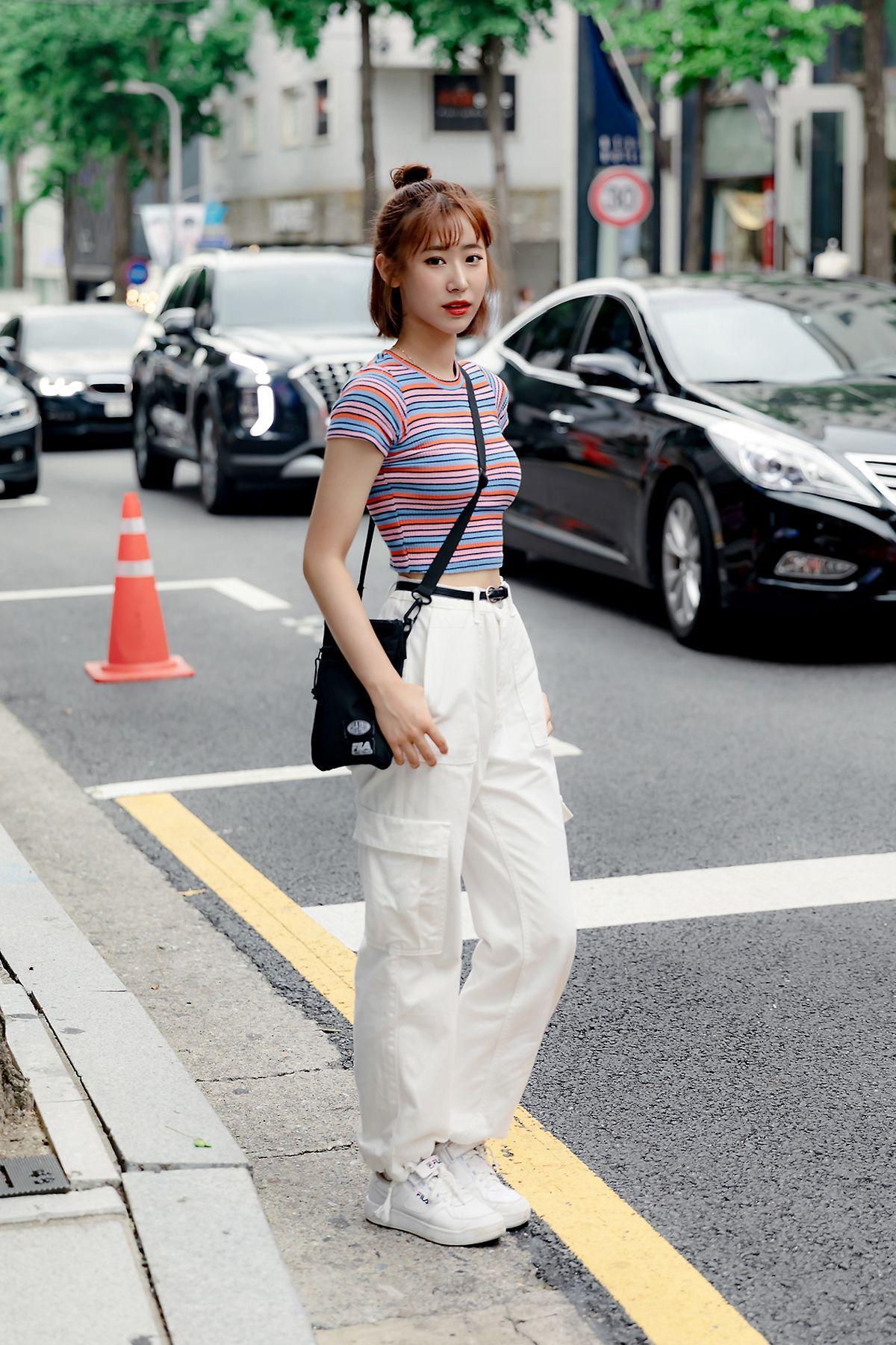 August #Seoul #Street #street styles #street styles 8 #street