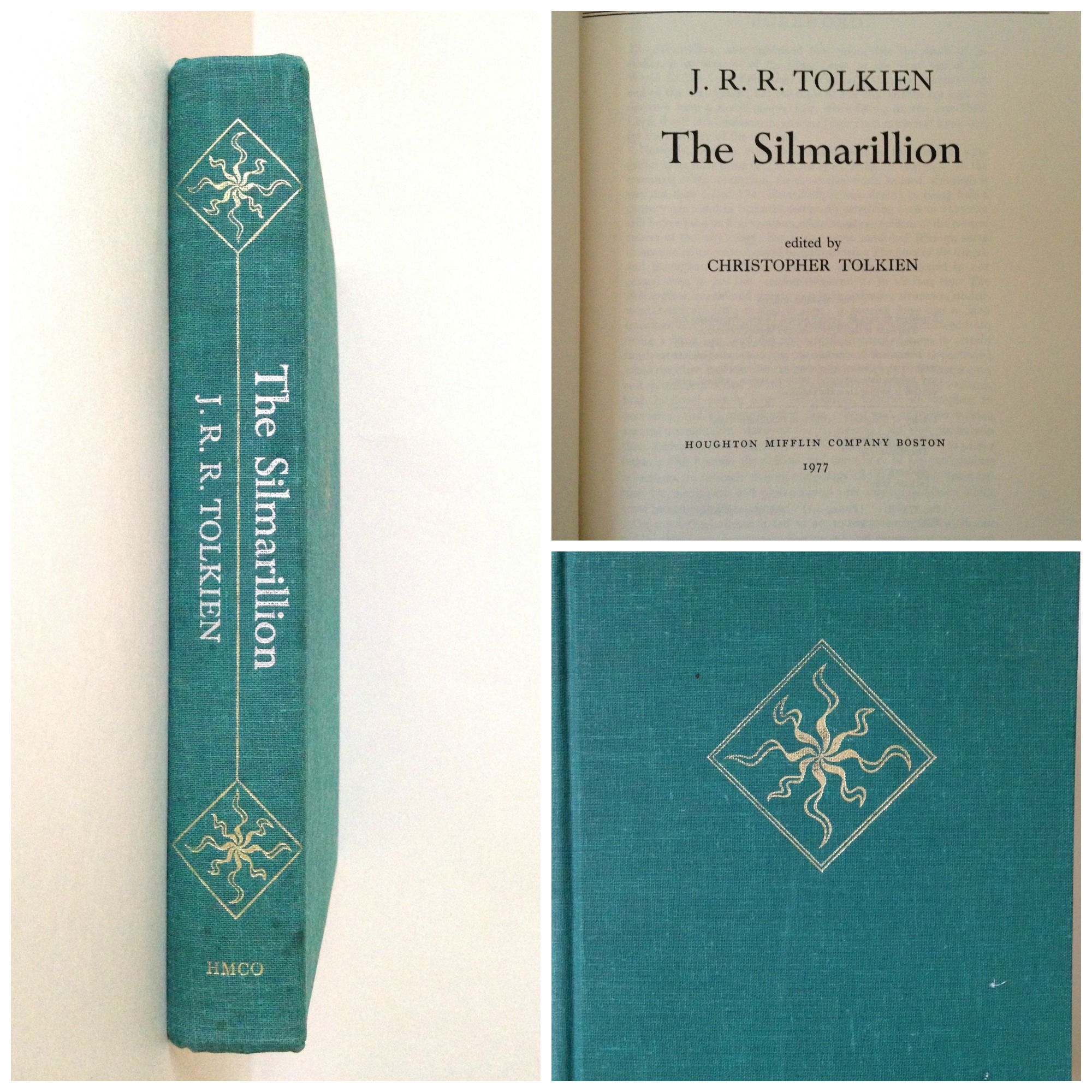 A rare edition The Silmarillion Tolkien Hobbit LordOfTheRings