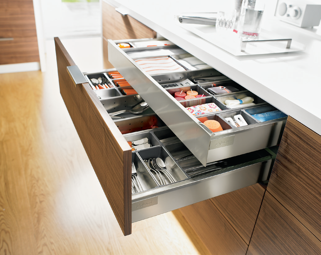 Standard and Inner drawer. Blum By Hafele | Innovative ...