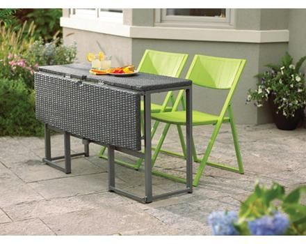 Umbra Loft Collection Woven Folding Patio Table Canadian Tire