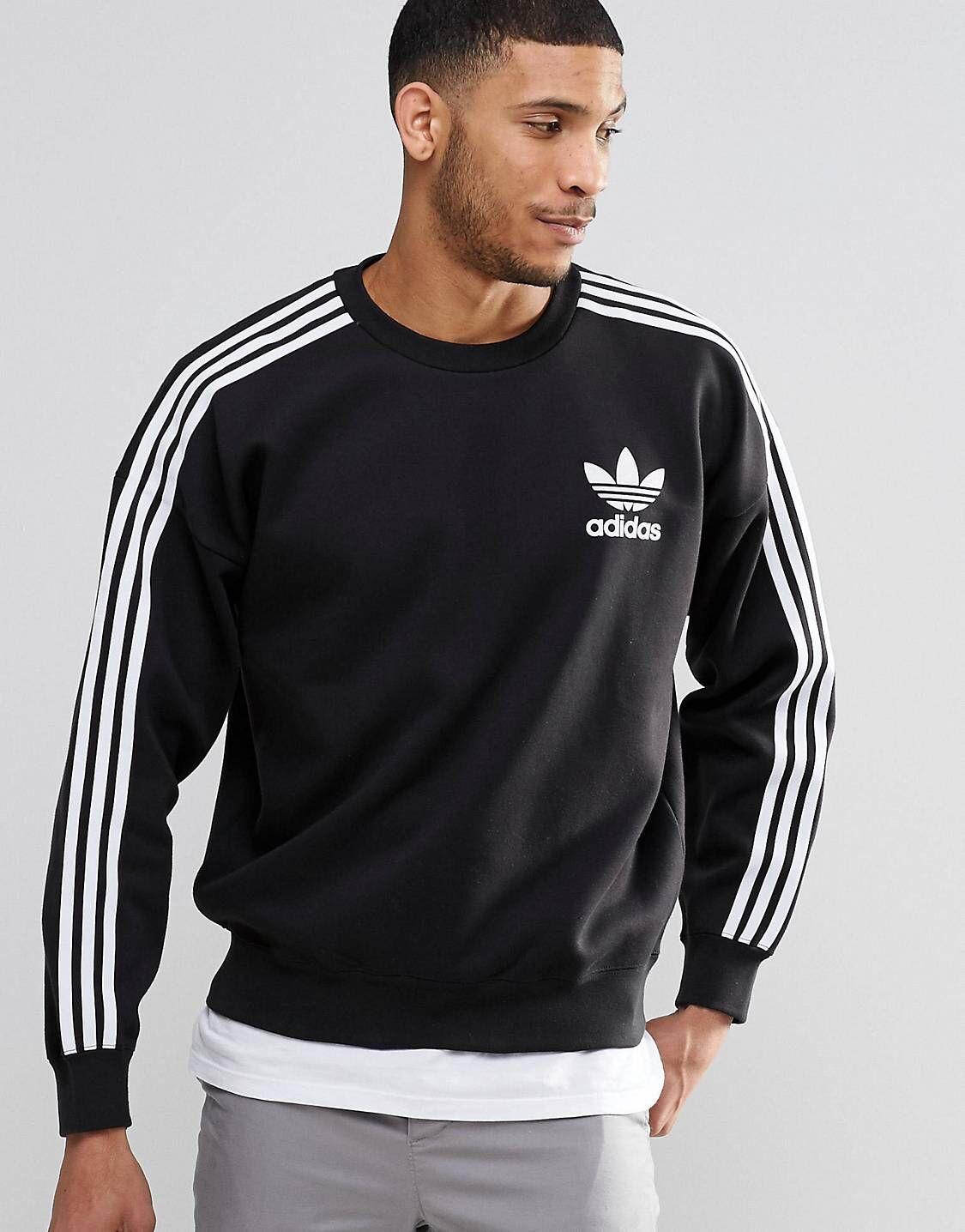 Adidas Originals Adicolour B10717 Crewneck Sweatshirt Asos Herretoj Sweatshirt Adidas Originals [ 1436 x 1125 Pixel ]
