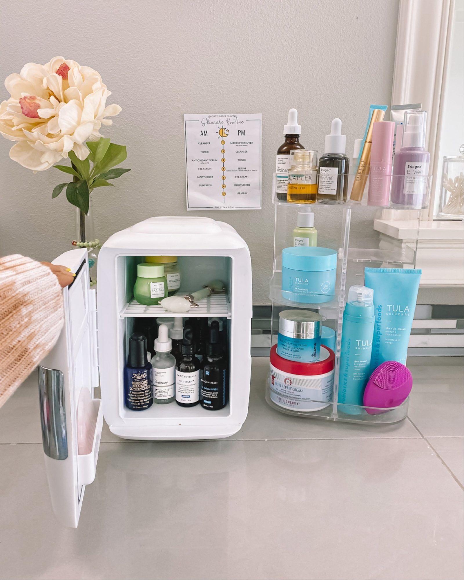 The Best Skincare Fridge Of 2020 Keep Your Make Up Effective Longer Skin Care Skin Care Tips Mini Fridge