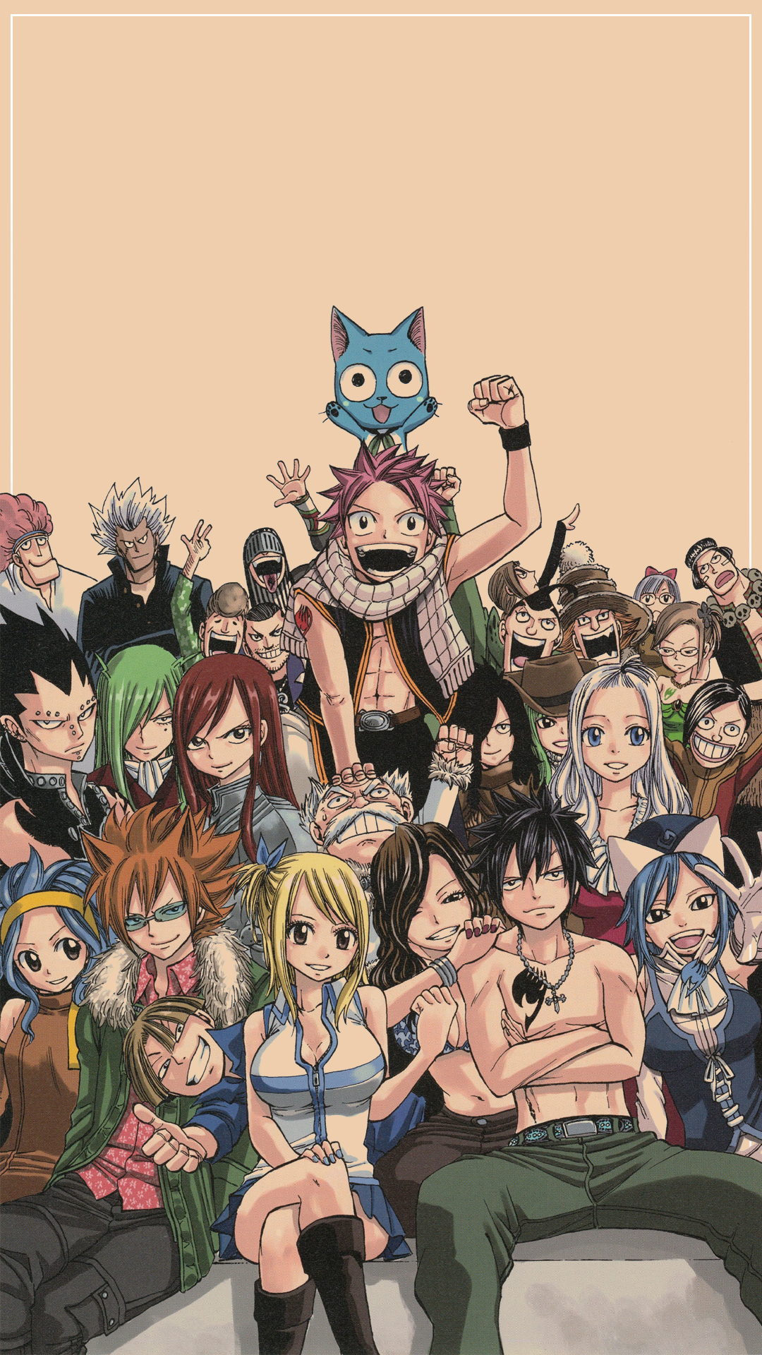 Fairy Tail Phone Wallpapers 1080x1920 Requested
