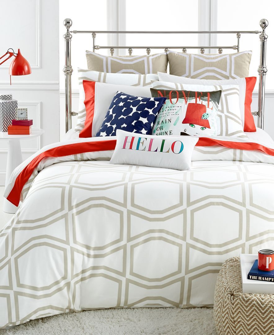 harbour and beyond kate style spade bath comforter new xfile bedroom stunning york set of image bed stripe