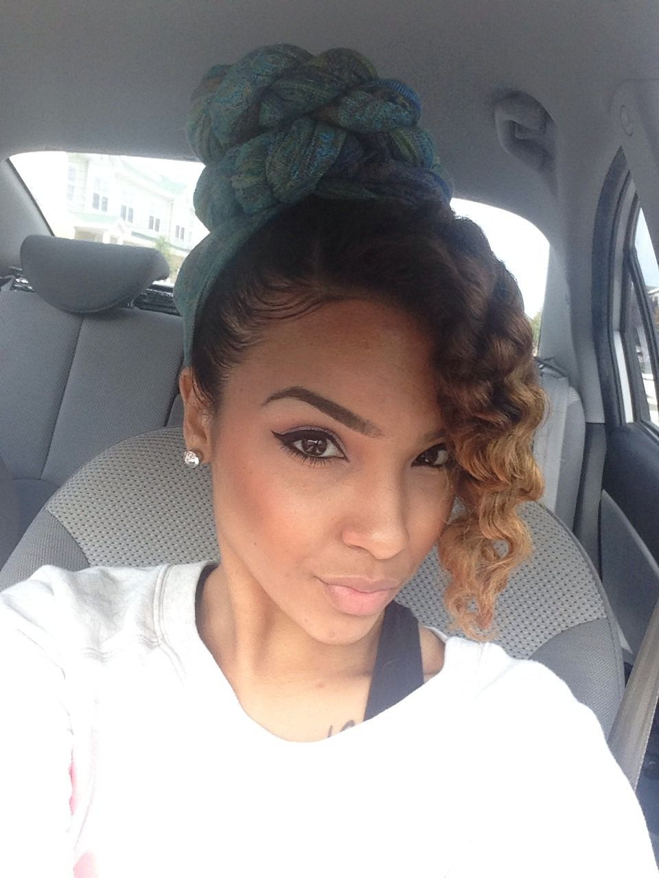 hair & wrap. To learn how to grow your hair longer click here - http://blackhair.cc/1jSY2ux