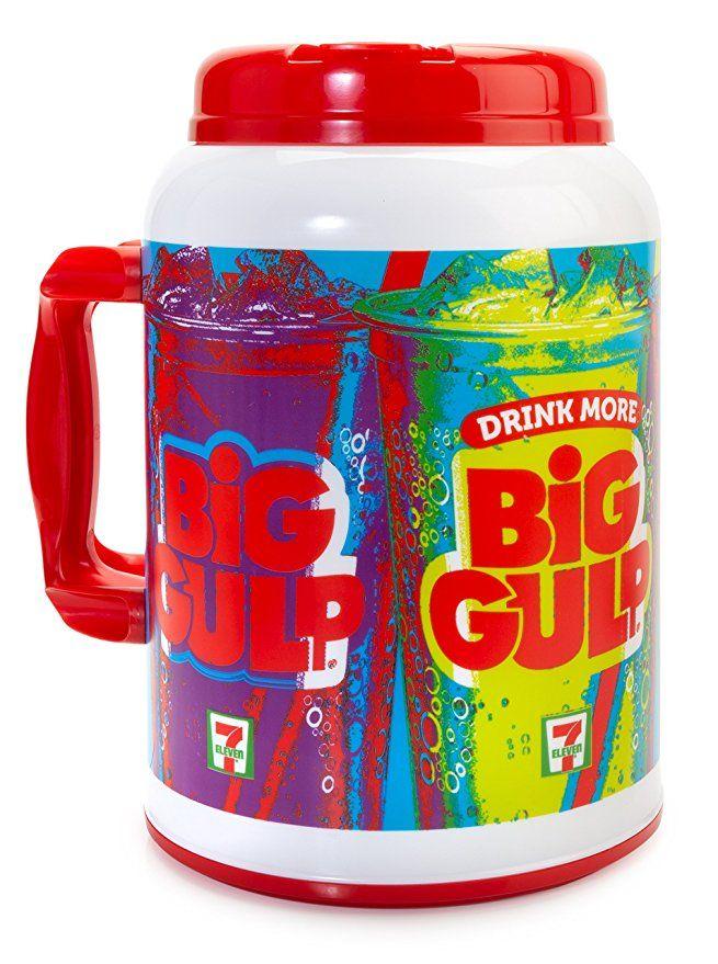 7Eleven Big Gulp Foam Insulated Travel Mug, 100 Ounces