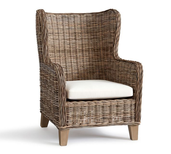 santa ana wingback occasional chair   favorite things   pinterest