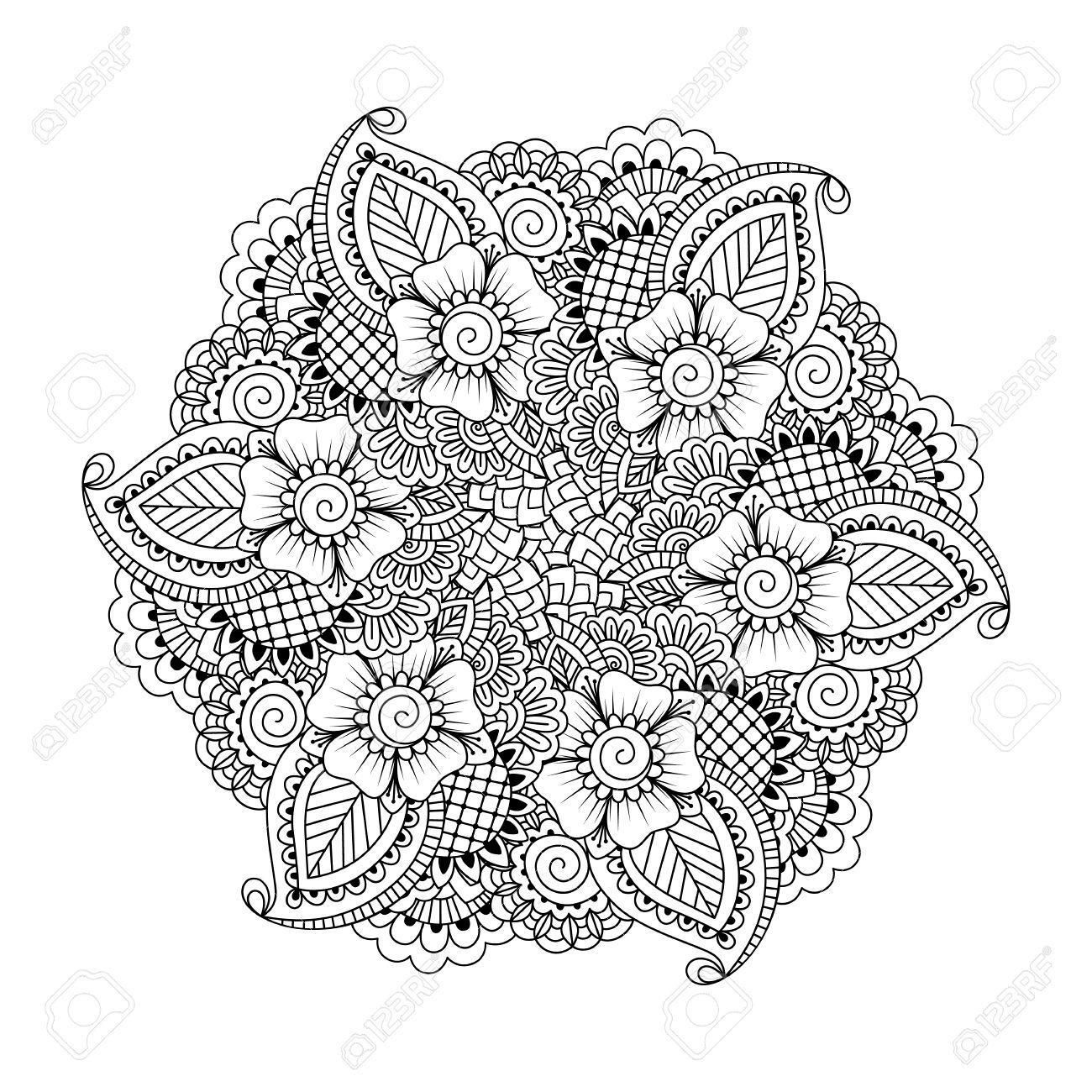 These Printable Abstract Coloring Pages Relieve Stress And Help You Meditate Davlin Publishing
