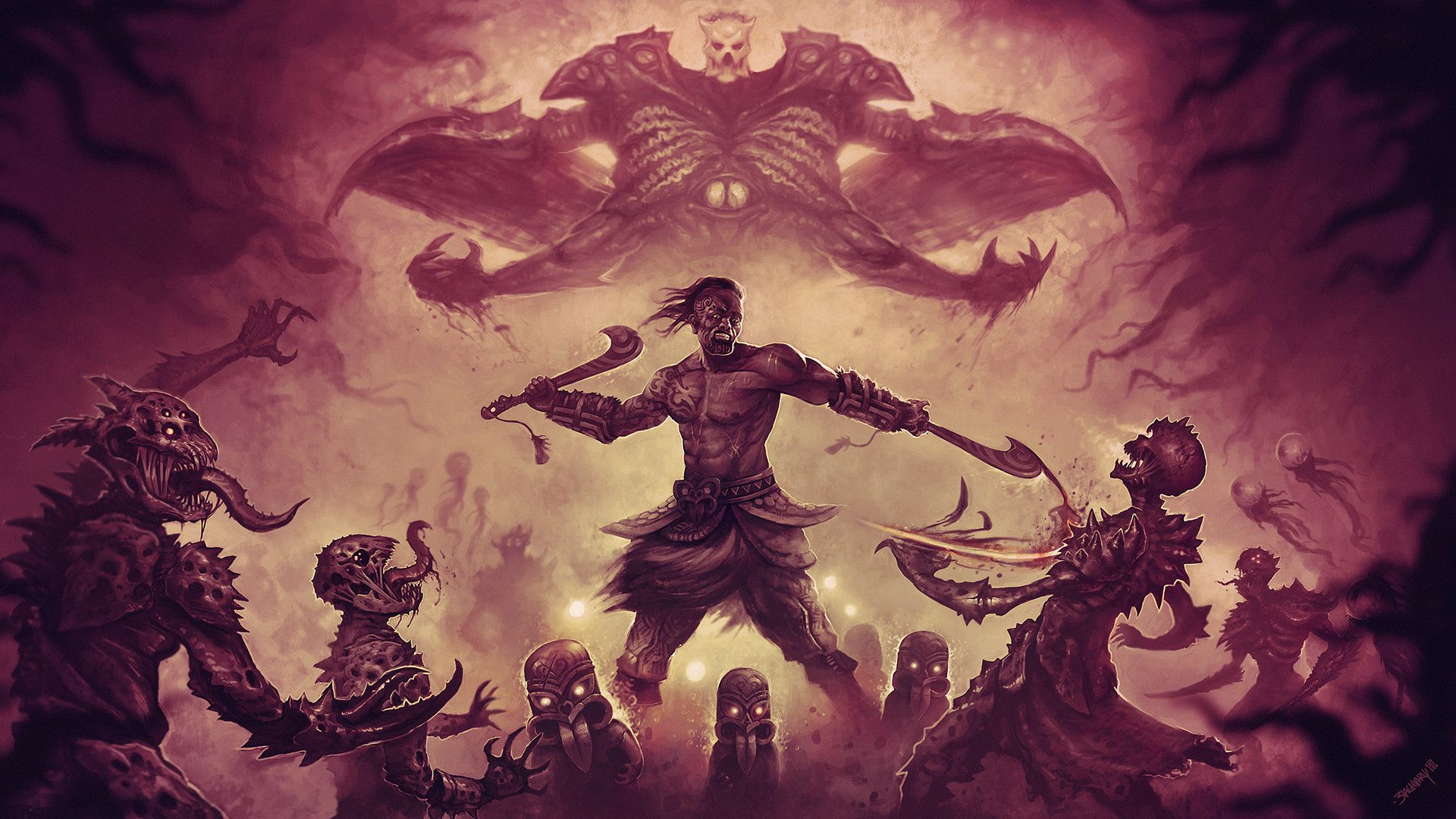 Path Of Exile Wallpaper With Images Wallpaper Fantasy