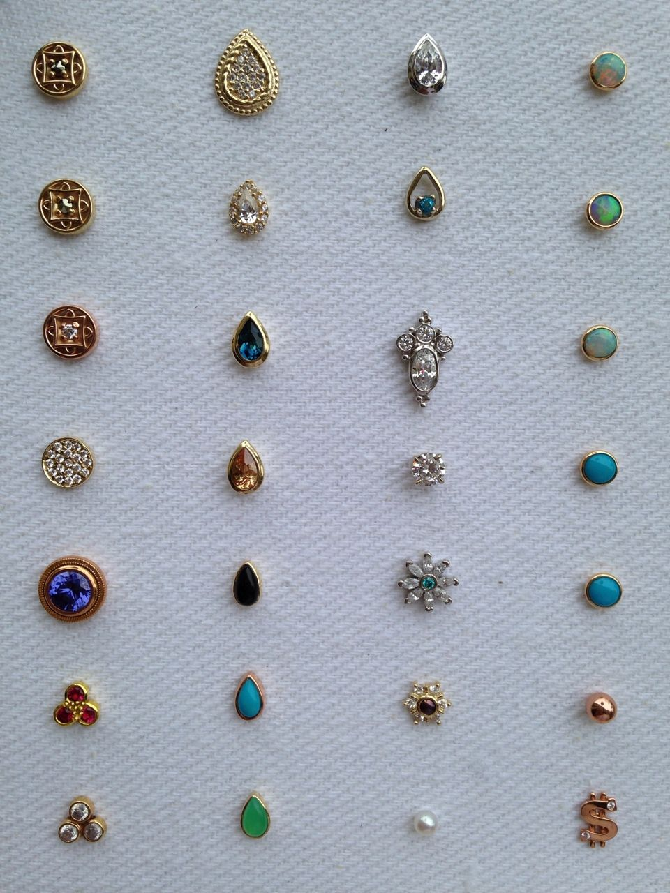 Earring Tops With Images Nose Jewelry Piercings Second Ear