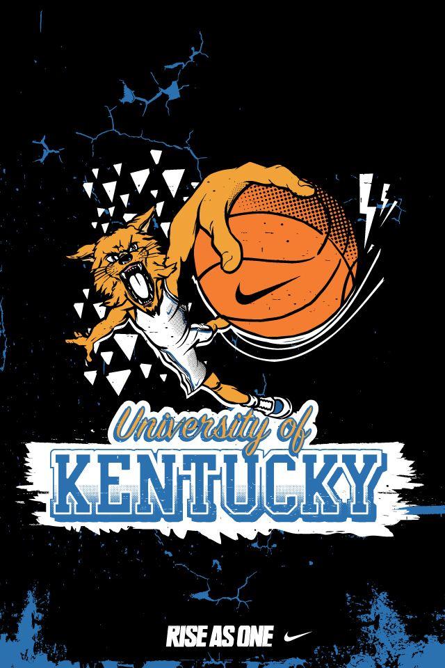Pin By Virgie On Uk Wildcats Kentucky Basketball Art