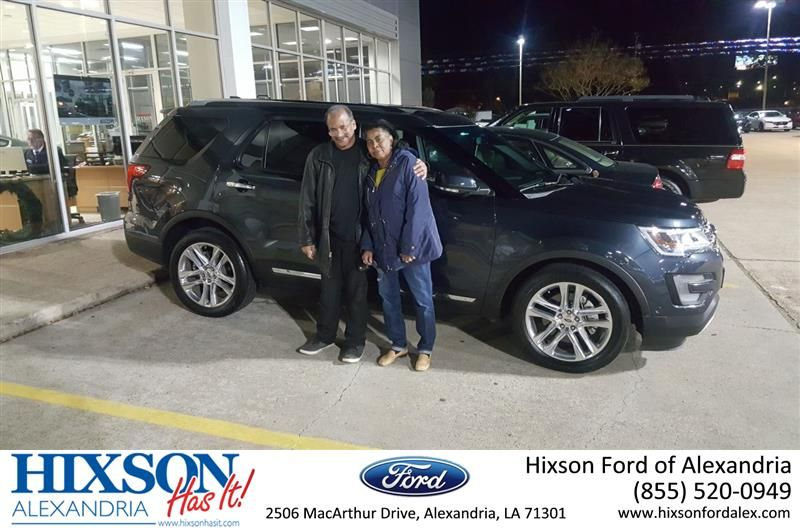 Congratulations rickey on your ford explorer from