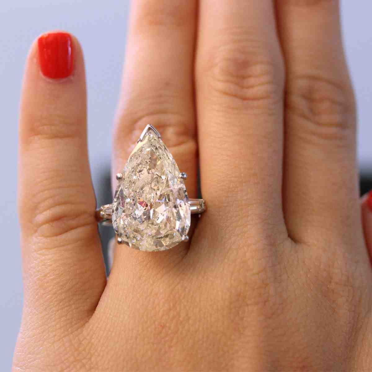 Big Expensive Engagement Rings Dream Jewelry Pinterest