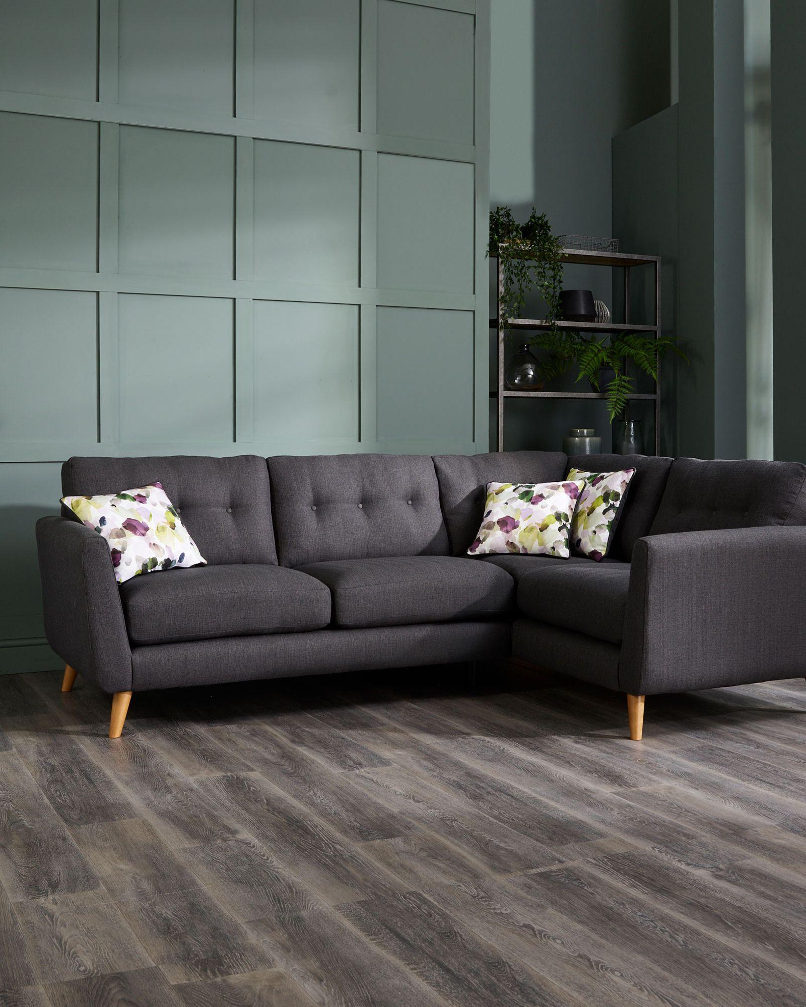Oak Furnitureland Evie Sofa Scandi Sofa Statement Sofa Sofa