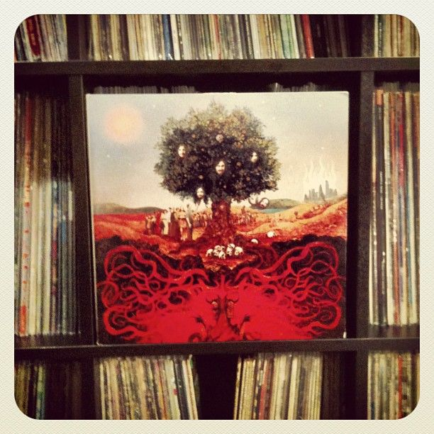 never enough #nowspinning #opeth #heritage #vinyl #recordcollection #love 2011
