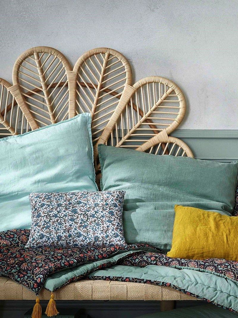 Tete De Lit Osier La Collection Déco Slow Life Printemps été De Cyrillus Deco