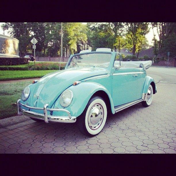 Pinterest Cute Old Car Slugbug Voltswagen Vintage Convertible Blue Bestoftheday S Volkswagen Beetle Convertible Volkswagen Beetle Beetle Convertible