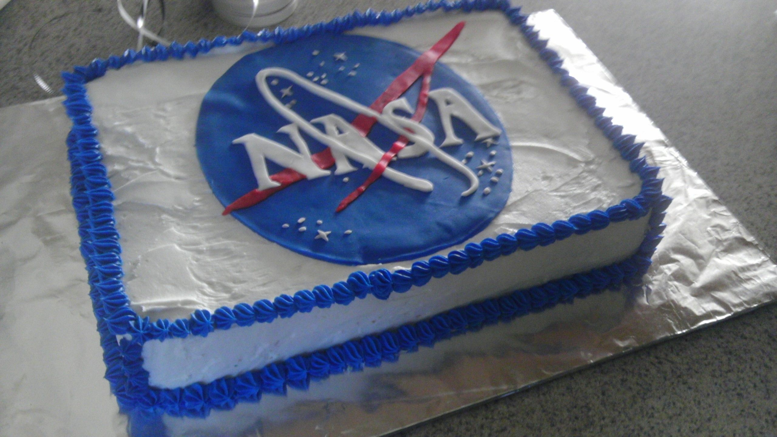NASA Cake Craig's first in 2019 9th birthday cake