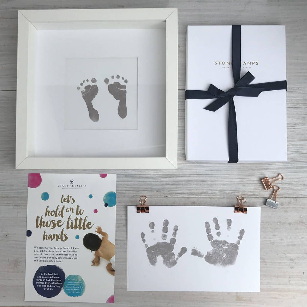 INKLESS WIPE HAND /& FOOT PRINT KIT BABY /& NEWBORN SAFE NEW GIRL GREAT GIFT