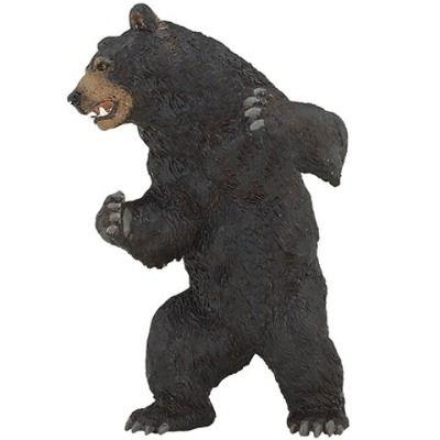 Black Bear Plastic Toy Black Bear Figure Papo Toy Figures