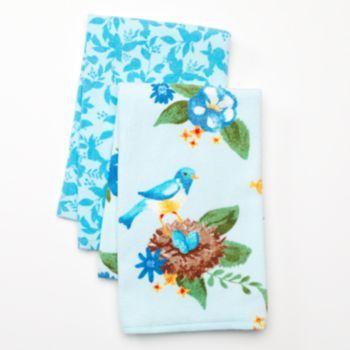 Sonoma Goods For Life Bluebird 2 Pk Kitchen Towels Cocina