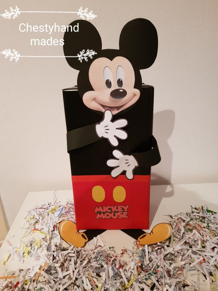 Verwonderlijk Surprise mickey mouse (met afbeeldingen) | Mickey mouse knutselen YR-96