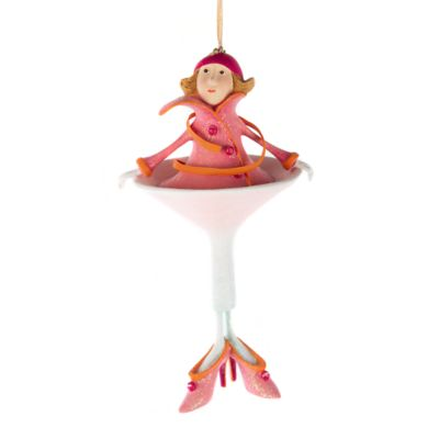Mackenzie Childs Patience Brewster Cosmopolitan Girl Ornament In 2020 Patience Brewster Christmas Patience Brewster Mackenzie Childs