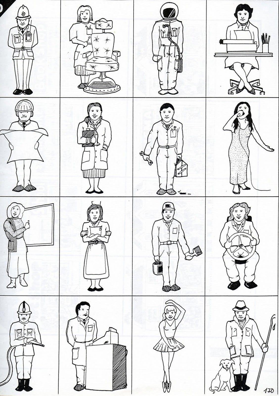 Profesiones para colorear en ingles - Imagui | Ideas for the House ...