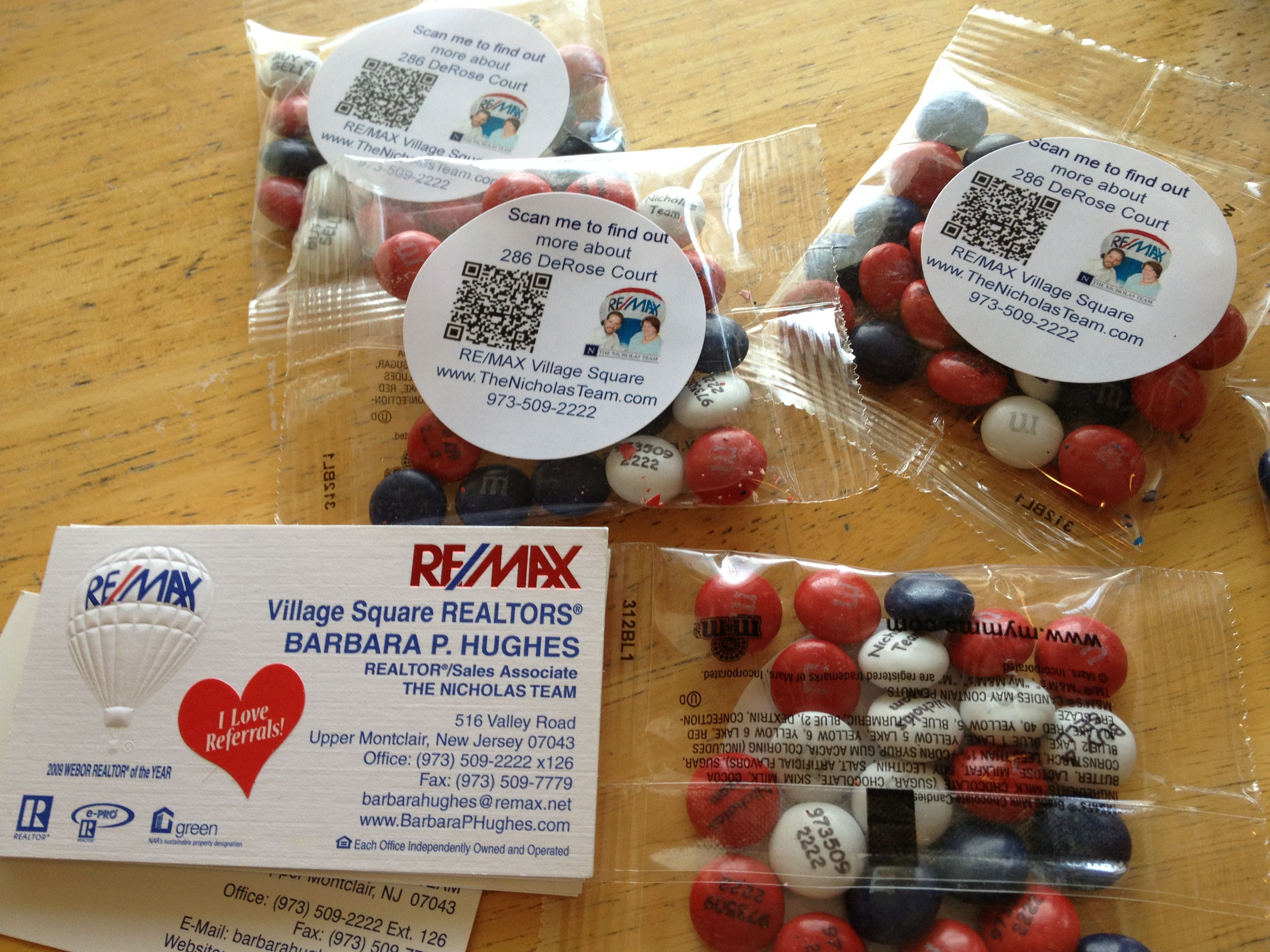09e1c31312c5ef couple of our marketing ideas for open houses...personalized ...