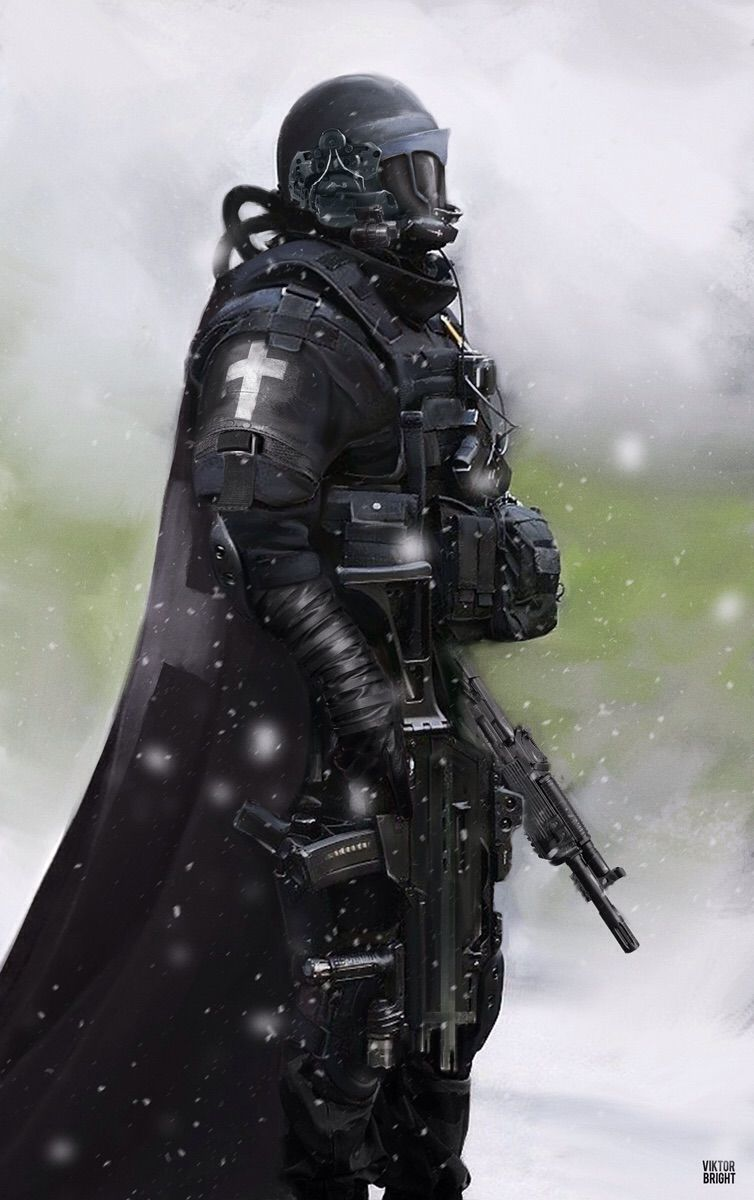 Imaginary Rendering Of A Modern Day Crusader Character Art Sci