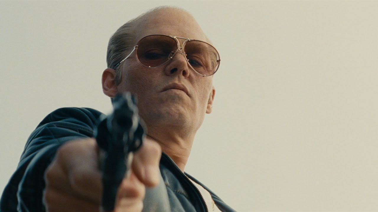 """#BlackMass starring Johnny Depp as Whitey Bulger 