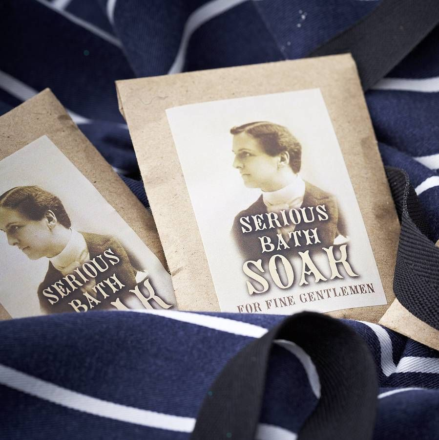 50 handmade bath soak for men wedding favours by pippins gifts and ...