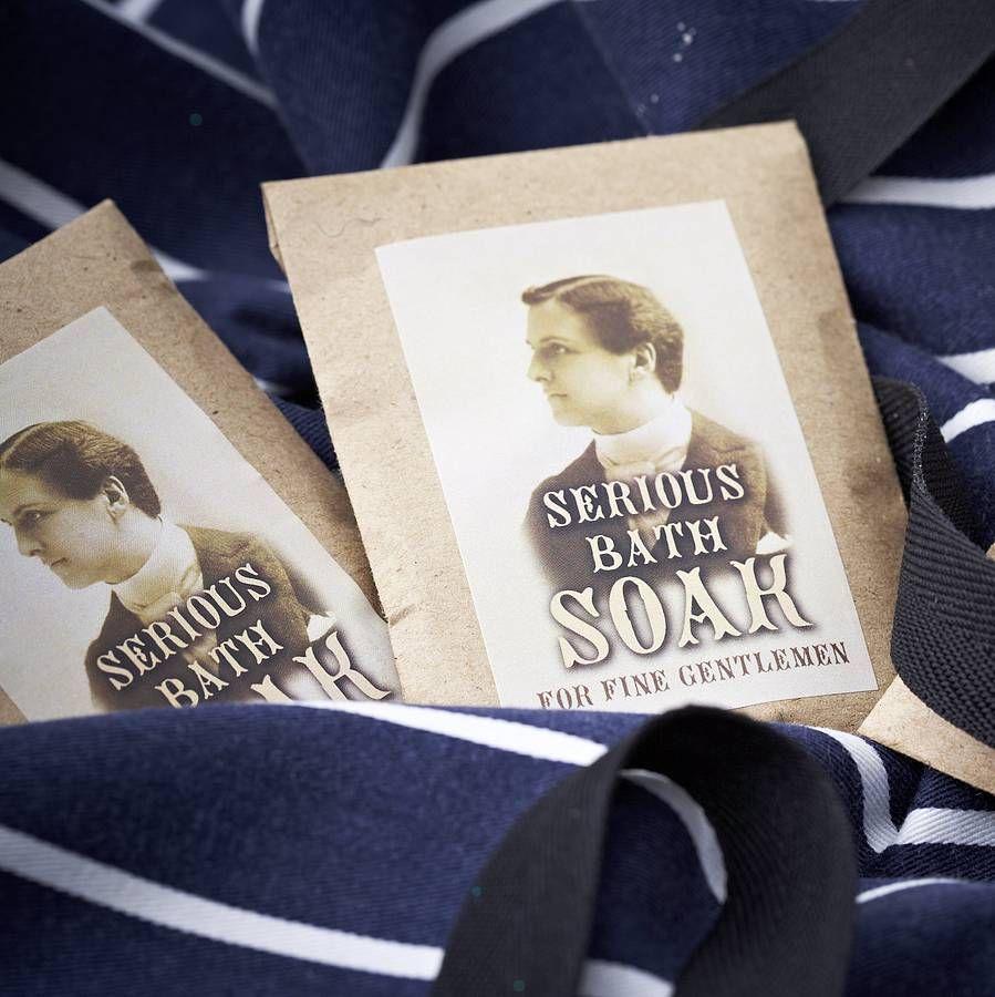 50 Handmade Bath Soak For Men Wedding Favours
