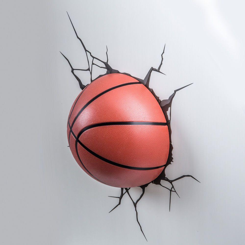 Verführerisch Wandtattoo Basketball Beste Wahl 3dlightfx Wandleuchte Lampe 123216 Neu